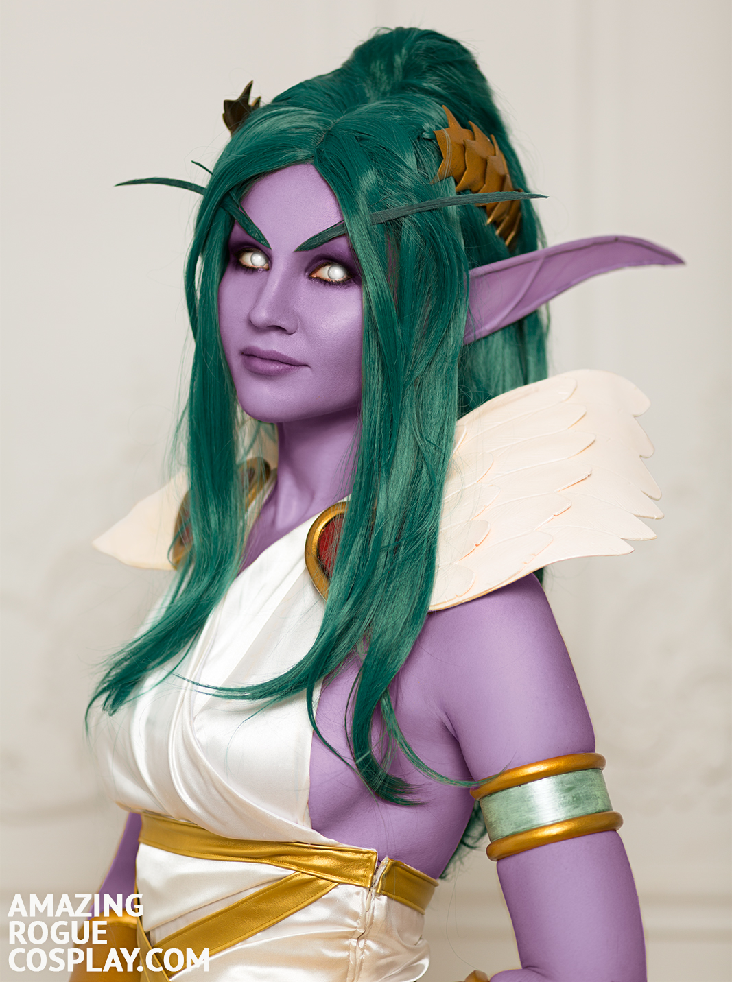 Tyrande Love Goddess hots heroees of the storm cosplay night elf