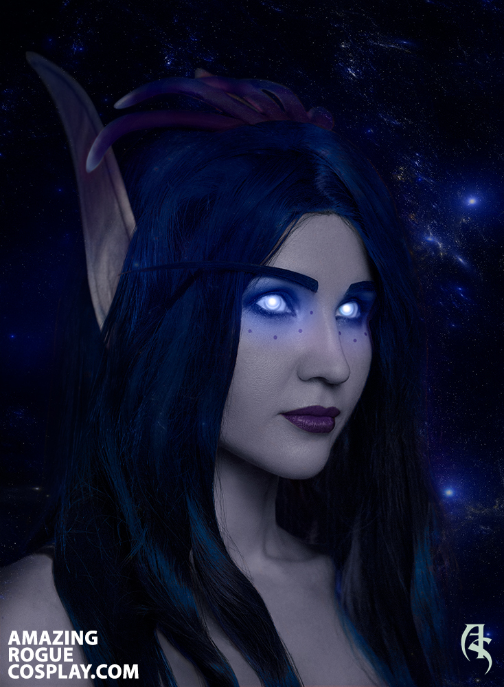 world of warcraft, cosplay, void elf, high elf