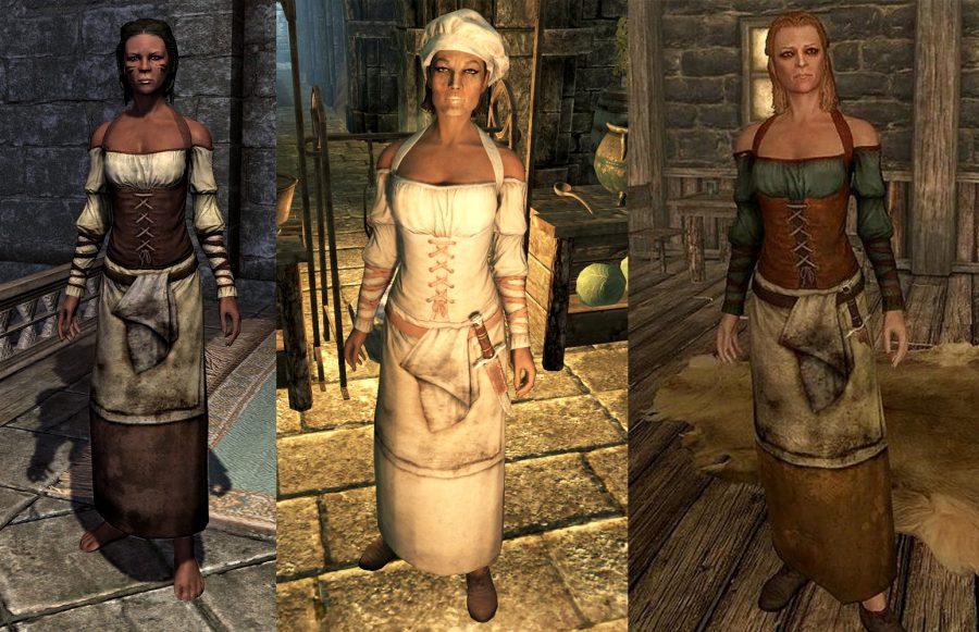 Skyrim Clothes