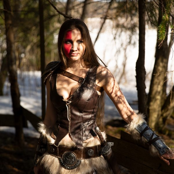 Tes dragonborn cosplay