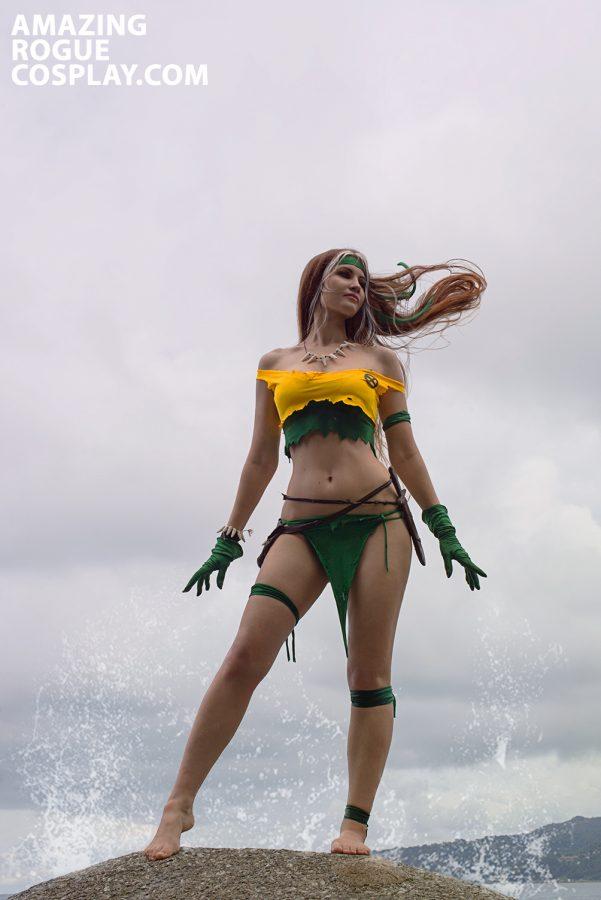 X-mens Rogue cosplay