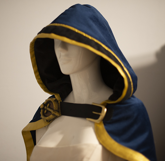 Jaina cosplay tutorial cape