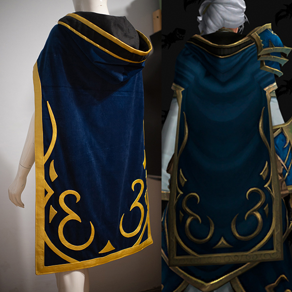 Create a cloak for new Jaina from World of Warcraft: Battle for Azeroth!