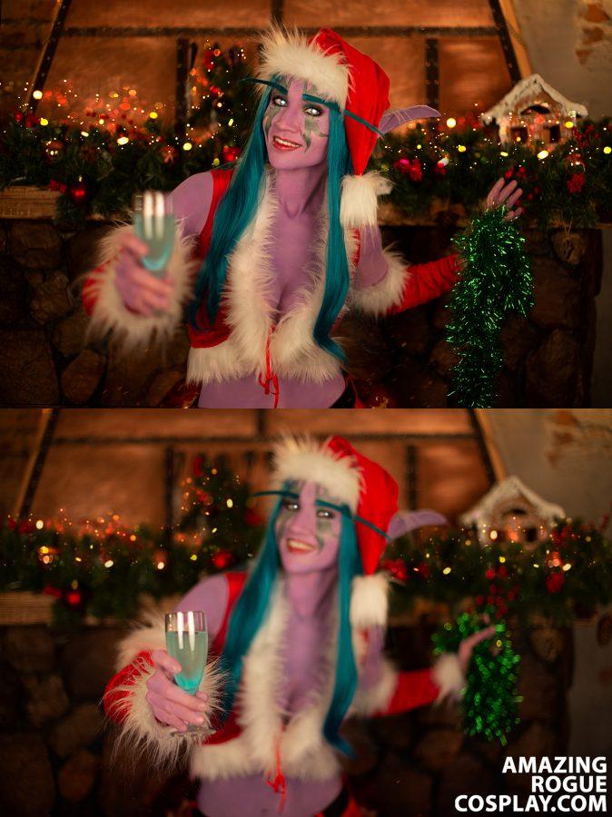 Night Elf cosplay