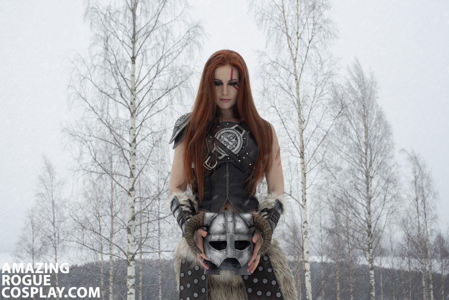 skyrim cosplay nord